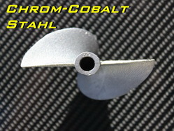 Chrom-Cobalt Propeller