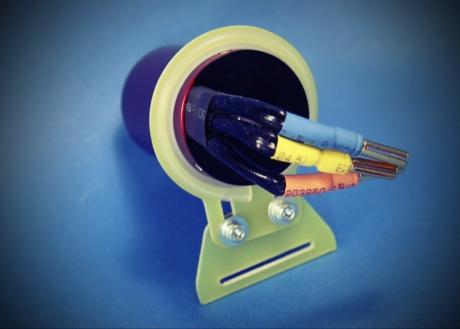 E-Motor shock absorber