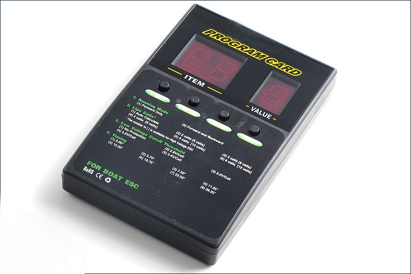 Speed controller for bruhsless motor Optional Parts