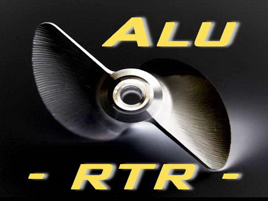Alu Propeller - Ready to Run -