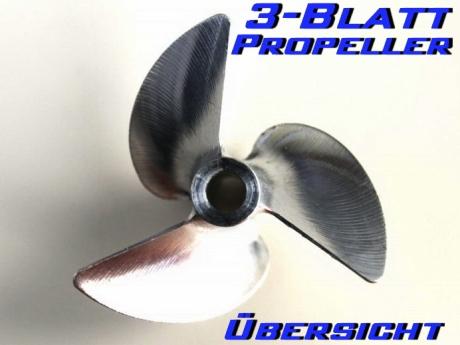 Propeller 3-Blatt Übersicht