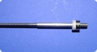Ersatzflexwelle 2,5li. mit 4 mm Welle und M4-links Flexwelle in linkslaufend.