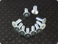 Senkkopfschrauben mit Innensechskant M4 x 14 mm