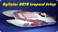 Agitator ARTR FERTIGMODELL mit 4060 Leopard Motor