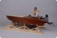 Atomite 1:5 Scale Außenbord-Vintage Modell