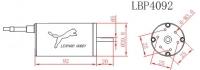Leopard LBP4092-B/2Y  Brushless Motor 4polig 1390kV