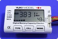 Akku Checker für NiCd -NiMH - LiFE - LiPo Zellen