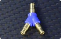 Schlauchverbindung Y-Verteiler / Innen 2,3 mm