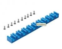 Schlauchklemme 10fach für 8 mm Schläuche oder Siliconkabel