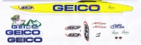 Dekorsatz GEICO für Modelle Länge 110-130 cm
