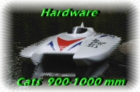 Zubehörliste für Katamarane 900-1000 mm