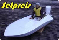 Choppy als Spar Paket Set Rumpf + 3,5 K&B E-Umbau + Spannzange