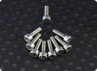 Zylinderschraube mit Innensechskant M2,5 x 8 mm Edelstahl