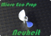 Alu Propeller Mini-ECO 25 mm mit M4 Gewindesystem