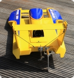 T-5 Hydroplane Fiberglass-Hull  yellow version version Peters&May   PACKAGE KIT