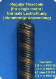 Flexwelle 3,2 / 500 mm einzeln  - Sonderposten Extra Flexibel -