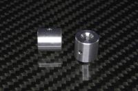 Druckmutter Alu 10 mm mit M4 Gewinde Sondermaß 10 mm tiefe