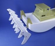 Turtle Working Boat Paketset