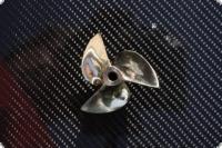 Propeller H&M 34 mm Hydro Dreiblatt M4 Gewindesystem