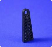 Stevenrohrabstützung 6 mm Rohrdurchmesser