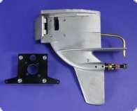 Original 3.5 K&B Outboard lower with E-conversion mounting plate