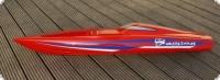 Watersnake RO GfK-Rumpf Rot eingefärbt