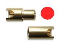 Goldkontaktstecker 6 mm Stecker, einzeln - Original Lehner - die Neue Generation -