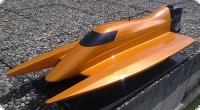 Skater Außenbord Rennbootmodell