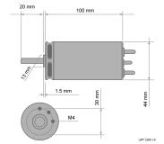 E-Motor Lehner Bürstenlos 2260 HiAmp Version
