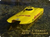 Drifter S  Design DAMAS ARTR FERTIGMODELL mit 1940 HiAmp Lehner