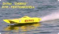 Drifter Design DAMAS ARTR FERTIGMODELL mit 2240 Lehner