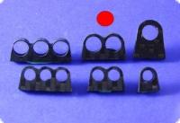 Schlauchführung doppelt für 7 mm Schläuche