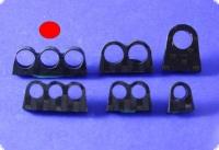 Schlauchführung dreifach für 7 mm Schläuche