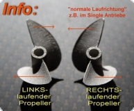 Propeller H&M 44 mm M4