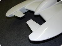 Spoilersatz Canardwings f. 1/10 Hydroplane T-4