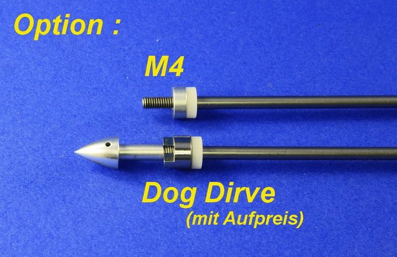 Wellenanlage Supra 4 mm Welle /M4 (Anfertigung)