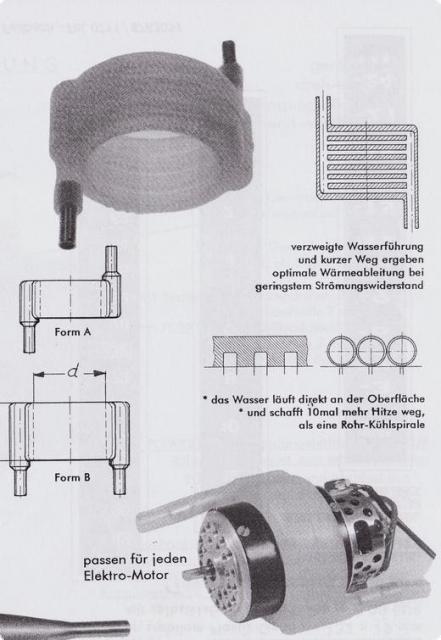 Elastic Wasserkühlring 50-70 mm /B/5 f. 800-900 Motore