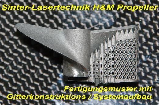 Propeller H&M Z44,5-1,4  linkslaufend RESTPOSTEN