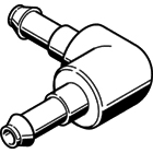 Schlauchverbindung L-Verteiler / Innen 2,3 mm