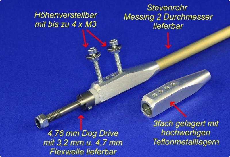 Flexanlage III  4,7/6/DD Strutless - Einführungpreis -