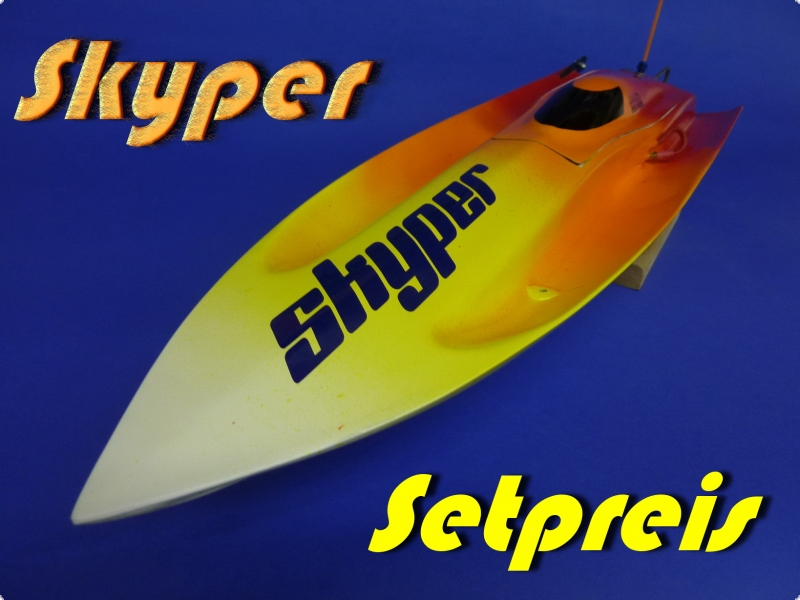 Skyper Mono I WE Speedboat   - Special Offer Price -