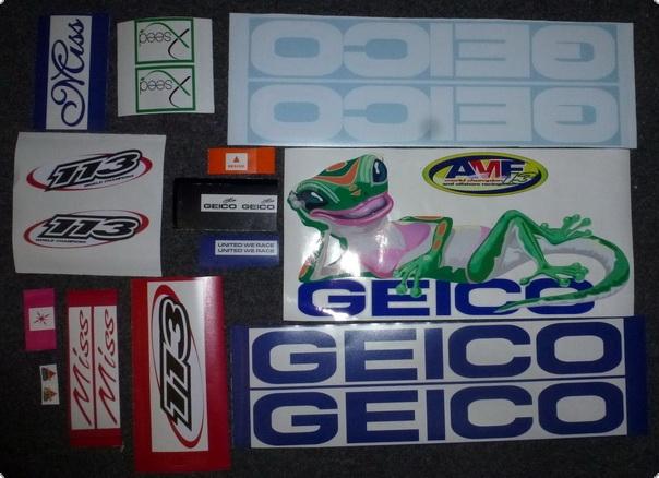 GEICO Dekorsatz für Modelle Länge 80-100 cm