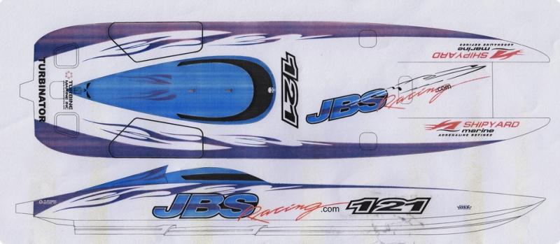 JBS Dekorsatz Länge 80-100cm