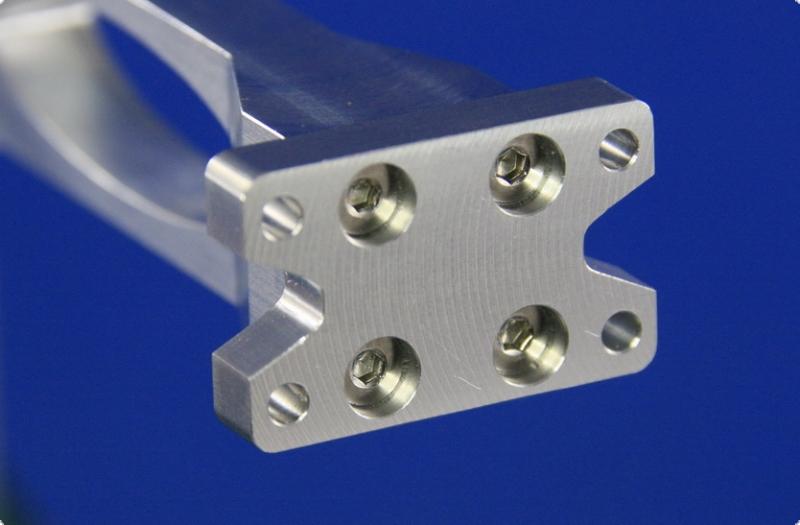 Screw plate for wedge rudder Gr. 1