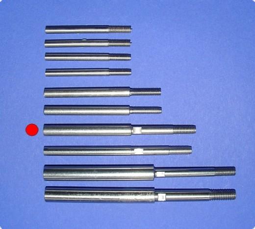 Ersatzflexwelle 4,7 mit 6 mm Welle und M5