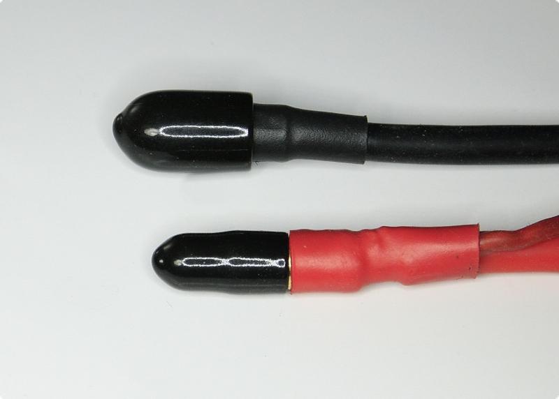Schutzkappen SET für Goldkontakte 5,5 - 6  mm Buchse&Stecker