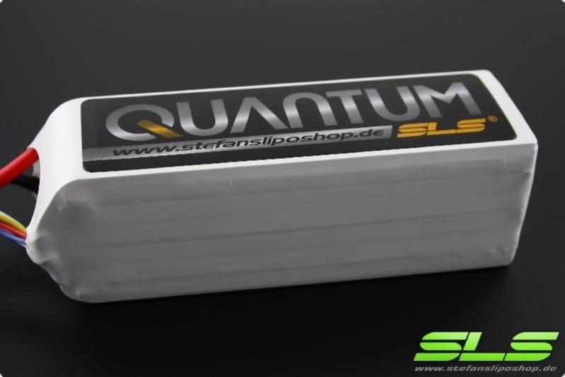SLS Quantum 5000mAh 2S1P 7,4V 65C/130C (AWG10)