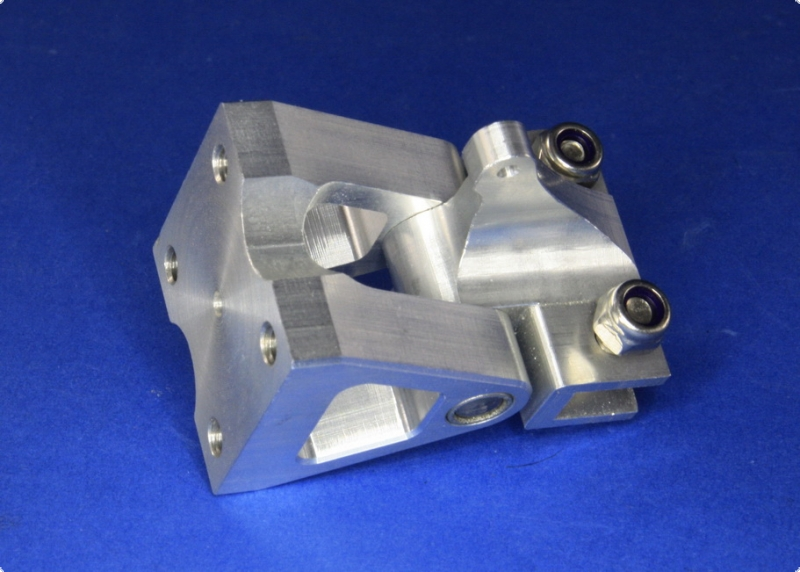 Wedgerudder III, short bracket for 130-160 mm sized rudders