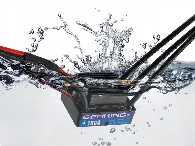 Seaking Bürstenlos Fahrsteller 180A BEC 5A 2-6s V3