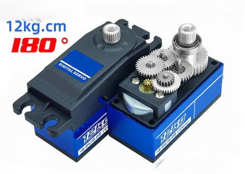Low Profil Servo DS-590MG LP Servo 51g / 9 kg Stellkraft